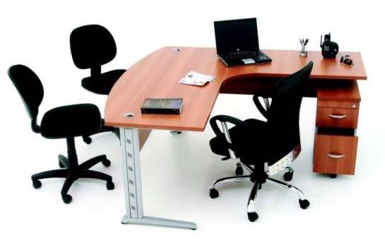 Estação de trabalho para atendimento - móveis-para-escritório-sp