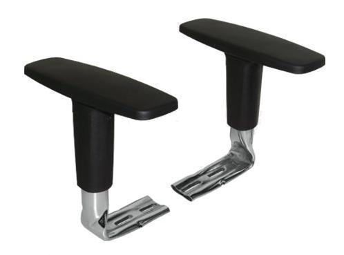 Cadeira Diretor Básica Giratória - Braços reguláveis cromados