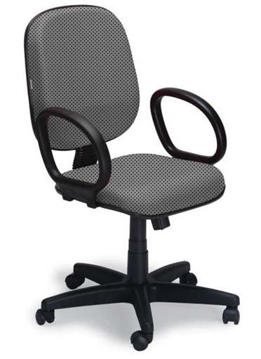 Cadeira Diretor Básica Giratória - Cinza