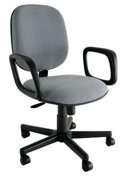 Cadeira Diretor Básica Giratória - Giratória - Base Preta