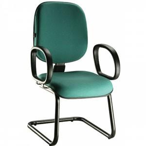 Cadeira diretor básica fixa. Cadeiras para escritório em SP