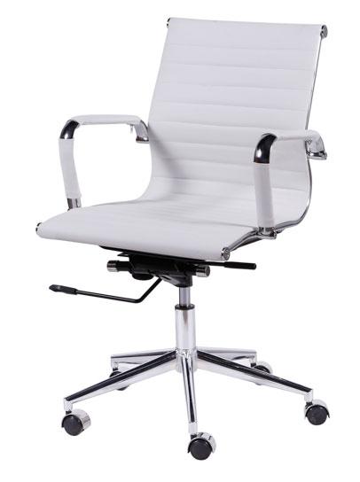 Cadeira diretor branca, cadeiras para escritório em SP