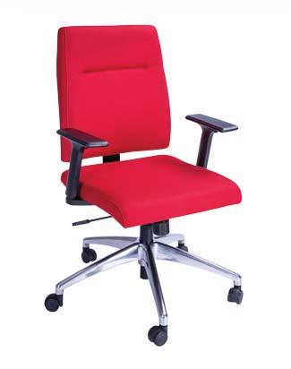 Cadeira Diretor Slim - Vermelha