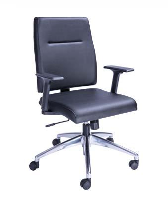 Cadeira Diretor Slim - Preta