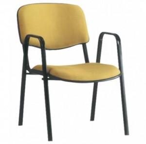cadeira-empilhavel-estofada-com bracos