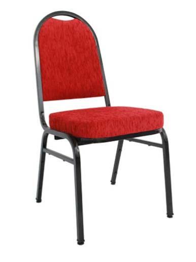 Cadeira Empilhável Para Hotelaria - Estofada