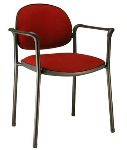 Cadeira fixa majesty, com braços, para auditório, hotelaria, recepção. Cadeiras para escritório, cadeiras para escritório em sp