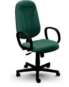 Cadeira presidente Básica - Verde