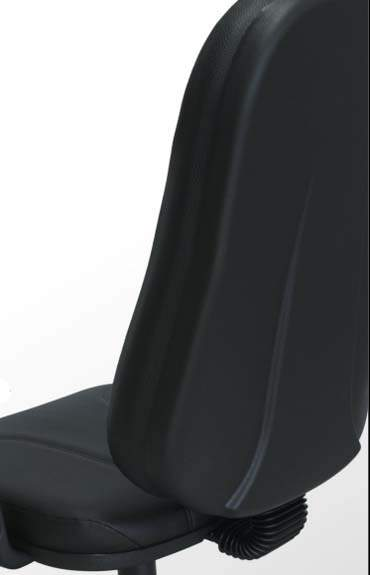 Cadeira Presidente Operativa - Capa posterior - Preto