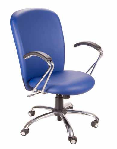 Cadeira presidente ITALIC - Azul
