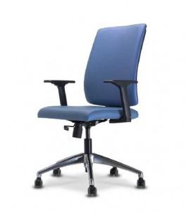 Cadeira presidente sof azul