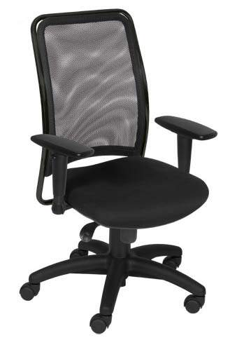 Cadeira presidente tela preta ou cromada