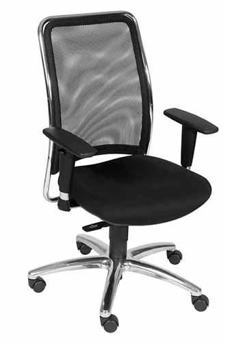 cadeira presidente tela cromada