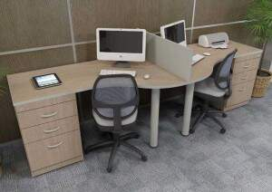 Estação de trabalho promoção - Móvel para Escritório - Moveis para Escritorio SP