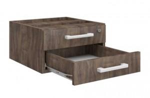 gaveteiro-fixo-2-gavetas -executivo, móveis para escritório sp