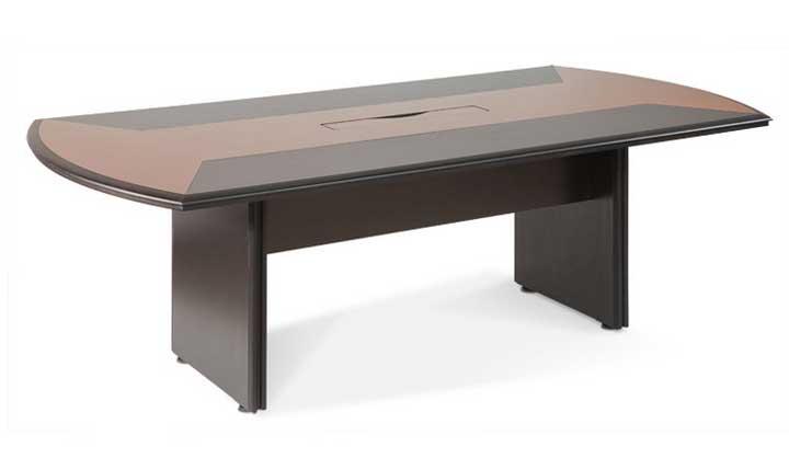 Mesa de reunião em madeira natural para 8 ou 10 pessoas. Mesa de reunião em SP