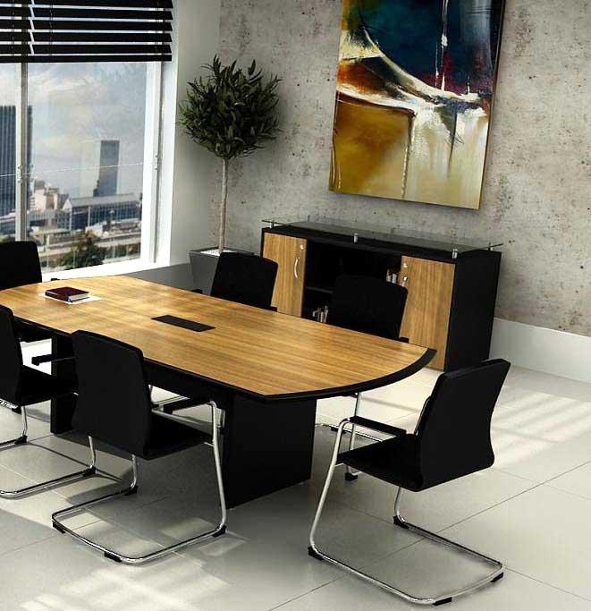 Mesa de reunião em MDF para 8 ou 10 pessoas. Mesa de reunião em SP