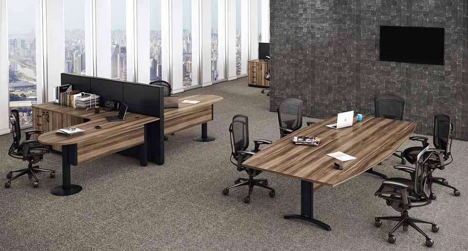 Mesa Para Escritório Plus - Delta
