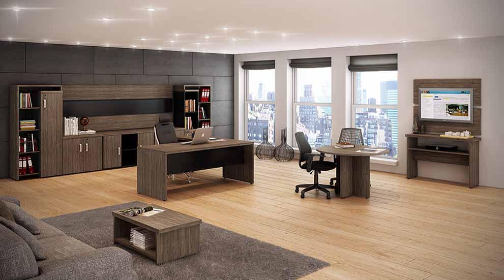 Mesa Diretor 40mm SP, Mesa em L 40mm em SP, móveis para escritório sp