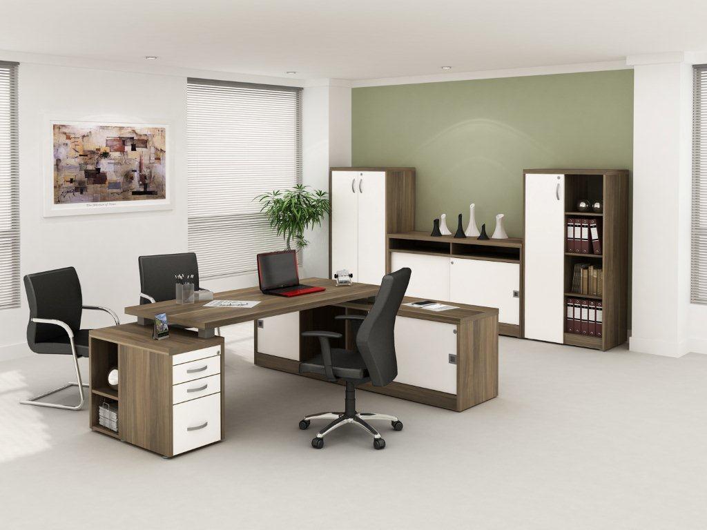 Mesa Executiva Premium 40mm - Em branco
