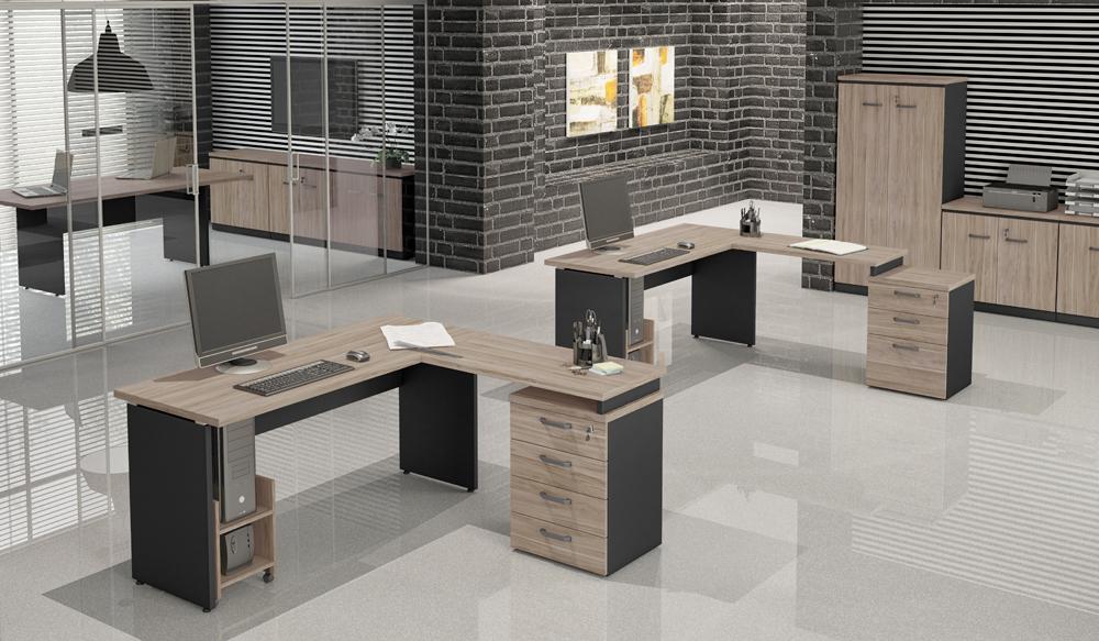 Mesa Para Escritório Y - Com gaveteiro