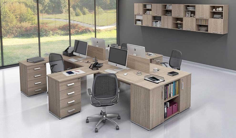 Mesão, mesa plataforma, estação de trabalho, móveis para escritório em SP