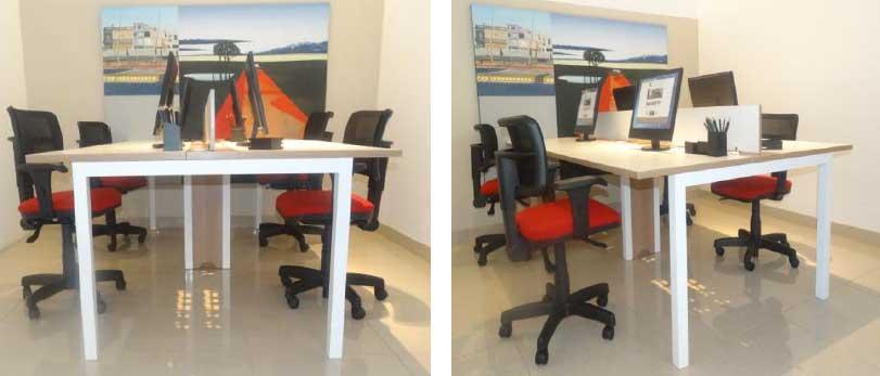Mesa Plataforma 10 - Estações de Trabalho