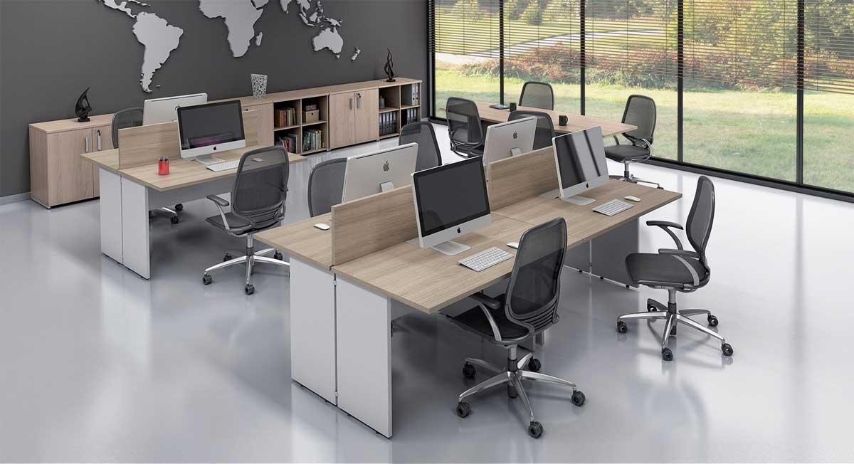 Mesa plataforma, mesa para escritório, móveis para escritório em SP
