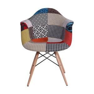 Poltrona patchwork, cadeiras para escritório em SP