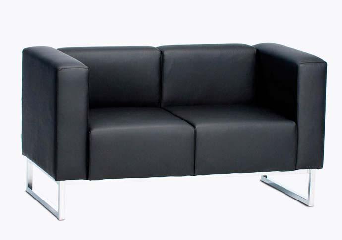 sofá para recepção de 2 e 3 lugares