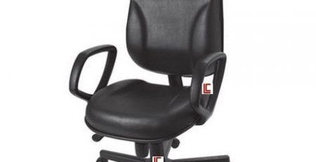 Cadeira Presidente Lombar para escritorio, Cadeira Presidente Preta