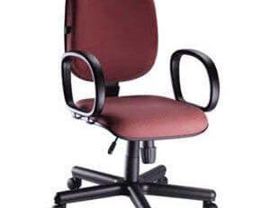 Cadeira Diretor Básica STE - Vermelha