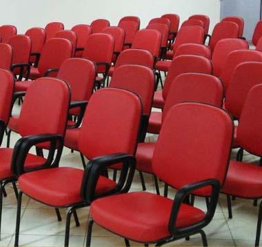 Cadeira Fixa para Auditório 1 - Poltronas para auditório - Moveis para Escritorio SP