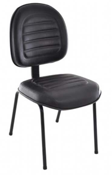 Cadeira Fixa Gomada - Cadeira Executiva Secretária - Moveis para Escritorio SP