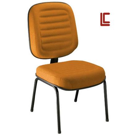 Cadeira Fixa Gomada 4 pés - Cadeira Fixa Visita - Moveis para Escritorio SP