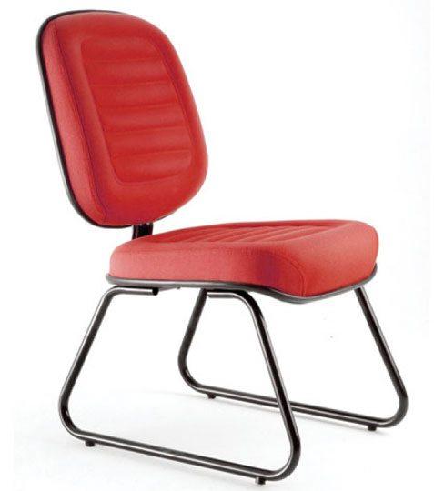 Cadeira Fixa Gomada Sky - Cadeira Fixa Visita - Moveis para Escritorio SP