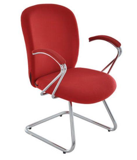 Cadeira Fixa Italic Cromo - Cadeira Fixa Visita - Moveis para Escritorio SP