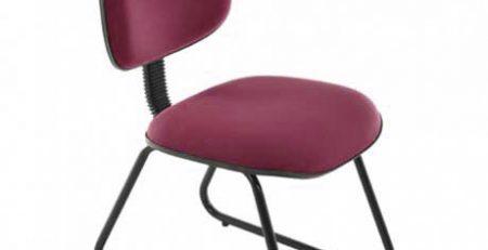 cadeira secretária, cadeira fixa