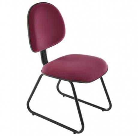 Cadeira Secretária Fixa Executiva - Cadeira Executiva Secretária - Moveis para Escritorio SP