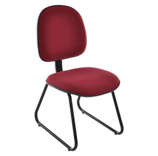 Cadeira Fixa Secretária Export - Cadeira Fixa Visita - Moveis para Escritorio SP