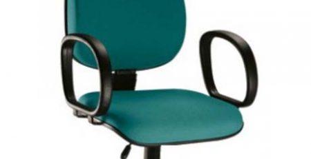 Cadeira Presidente Básica STE - Verde - Base Preta