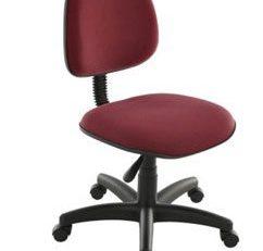 Cadeira Secretária Giratória - Vermelha