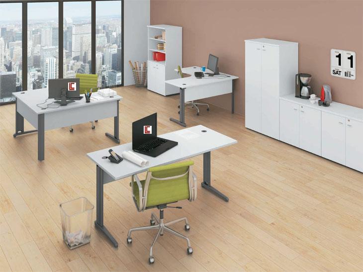 Escrivaninha para Escritório - Destaque Mesas - Moveis para Escritorio SP