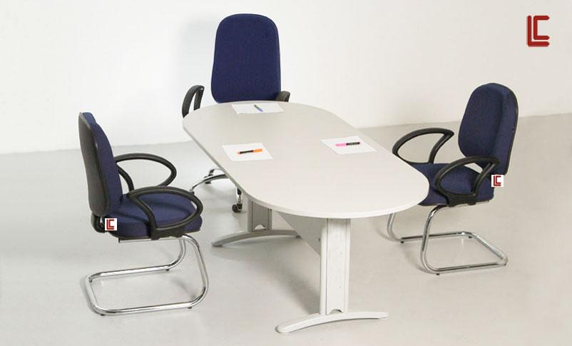 Mesa de Reunião Oval - Mesas Para Reunião - Moveis para Escritorio SP