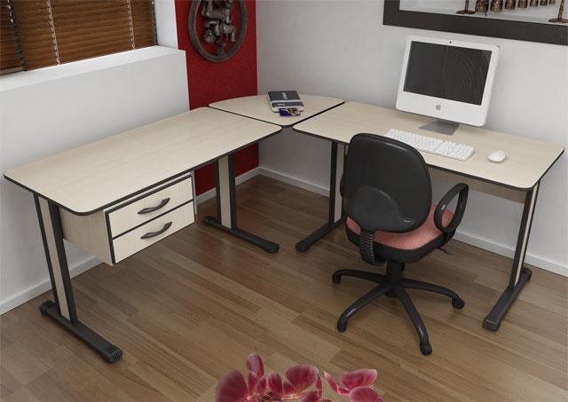 Mesa em L Light SP, Mesa em L Escritório