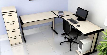 Mesa em L Light Escritório, Mesa para Escritorio SP