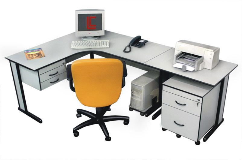 Mesa em L Pop Light - Estação de Trabalho Econômica - Moveis para Escritorio SP