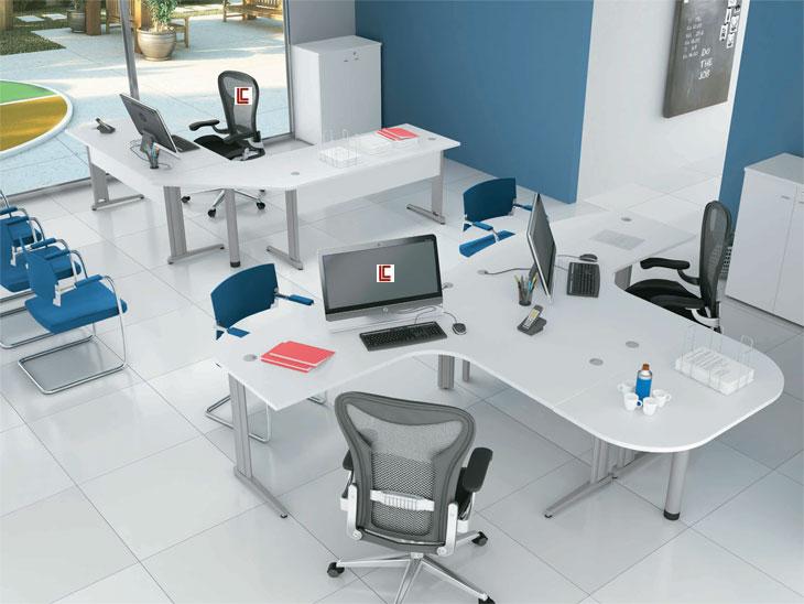 Mesa em L Smart - Estações de Trabalho - Moveis para Escritorio SP