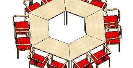 Mesas Trapezoidais treinamento, mesa trapezoidal p treinamento