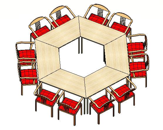 Mesas Trapezoidais - Mesas Para Treinamento - Moveis para Escritorio SP